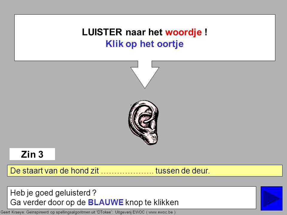 Geert Kraeye: Geïnspireerd op spellingsalgoritmen uit DTokee : Uitgeverij EWOC ( www.ewoc.be ) eindigt de NOEMVORM op den .
