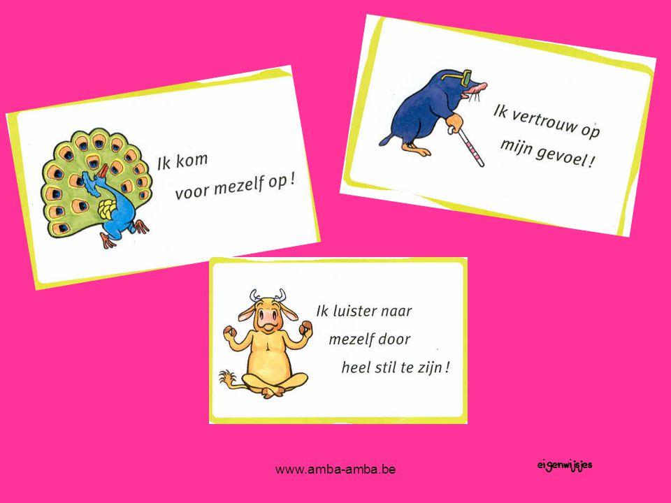 www.amba-amba.be eigenwijsjes