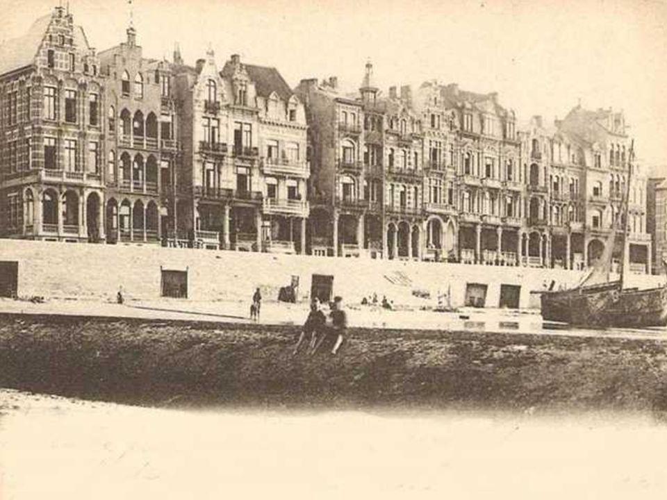 Op deze foto : halte in Zeebrugge Môle