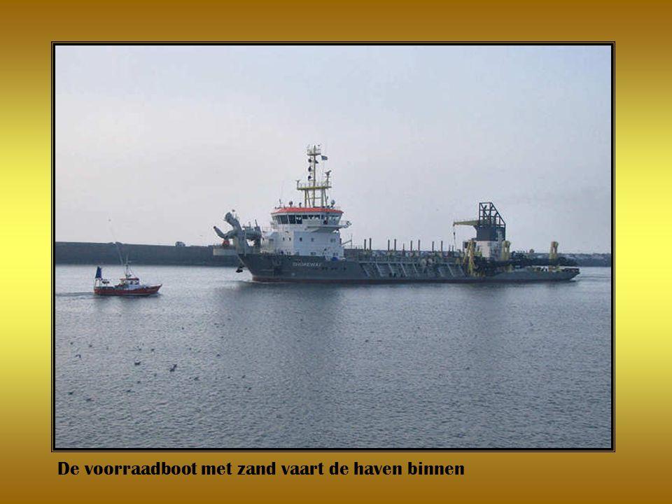 Ophoging strand Scheveningen deel 1 tine