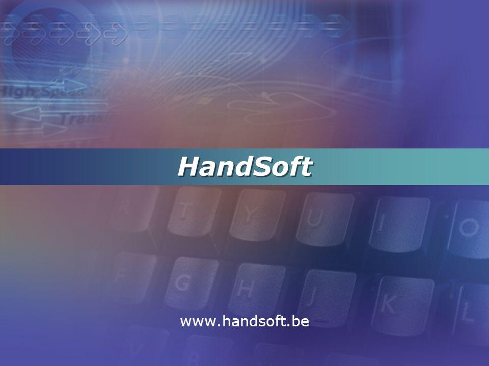 www.handsoft.be 32/33 Constant overzicht op projecten, met inzoomfuncties naar kostendetails, documenten,...