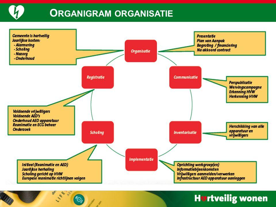  11 O RGANIGRAM ORGANISATIE
