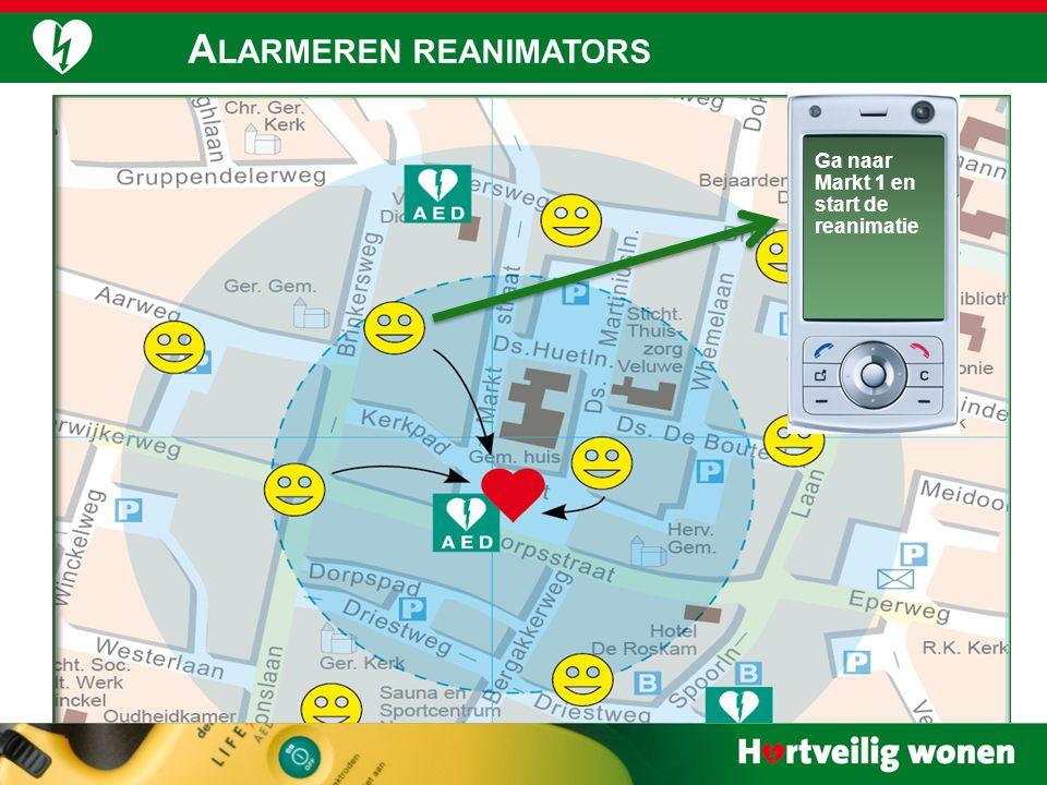 A LARMERING 99 Ga naar Markt 1 en start de reanimatie A LARMEREN REANIMATORS