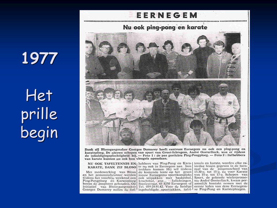 1977 Het prille begin