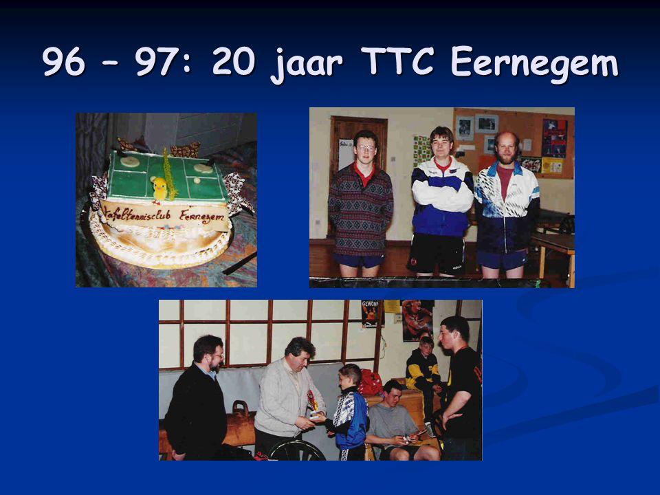 96 – 97: 20 jaar TTC Eernegem