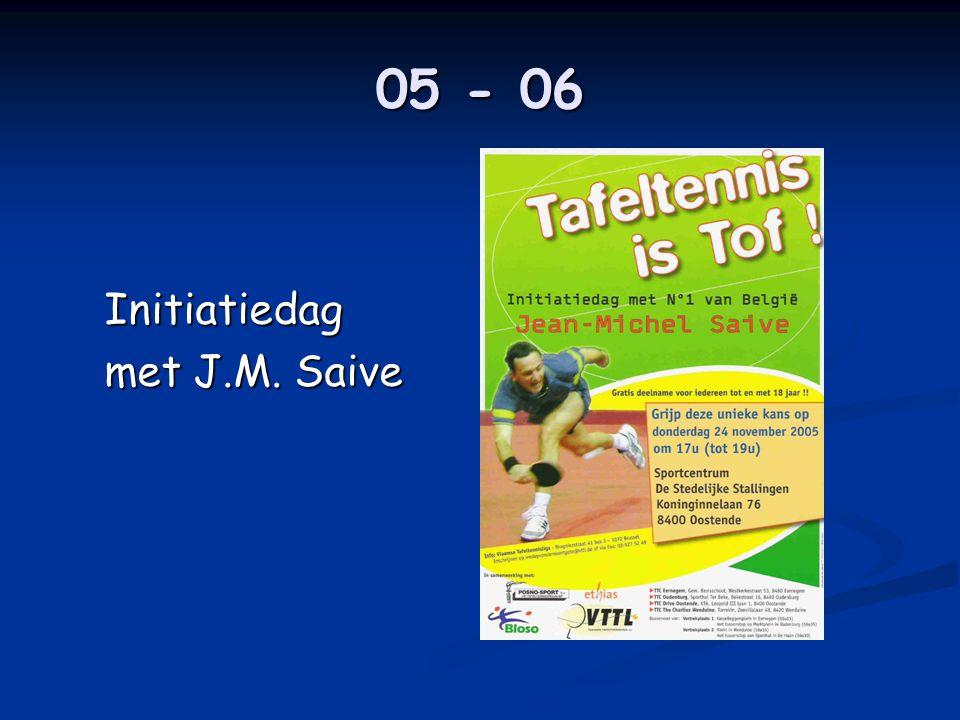 05 - 06 Initiatiedag met J.M. Saive