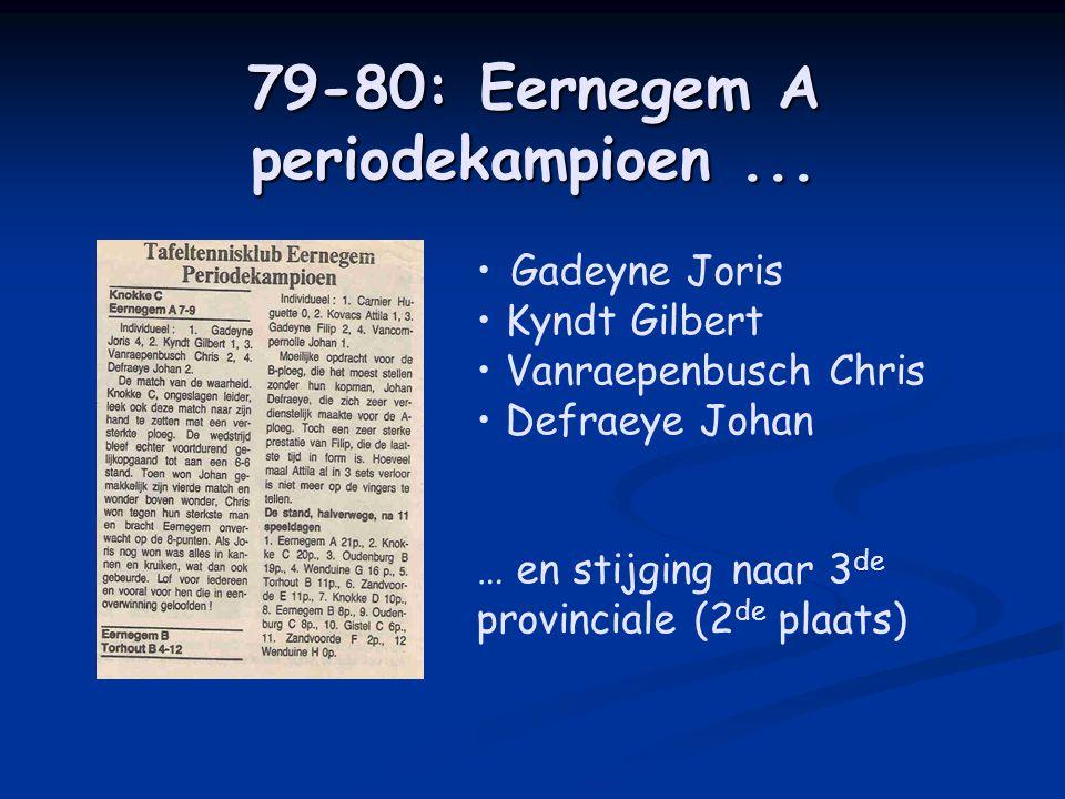79-80: Eernegem A periodekampioen...