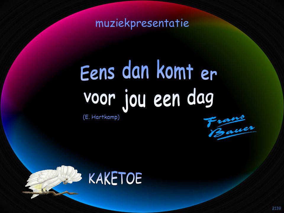 2139 muziekpresentatie (E. Hartkamp)