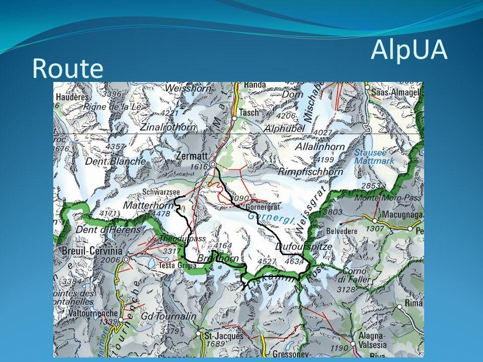 AlpUA Route