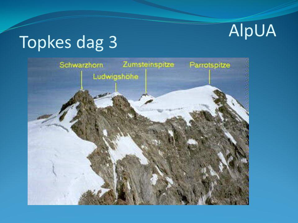 AlpUA Topkes dag 3