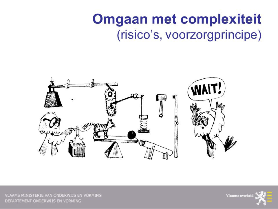 Complexiteit via syndroomanalyse