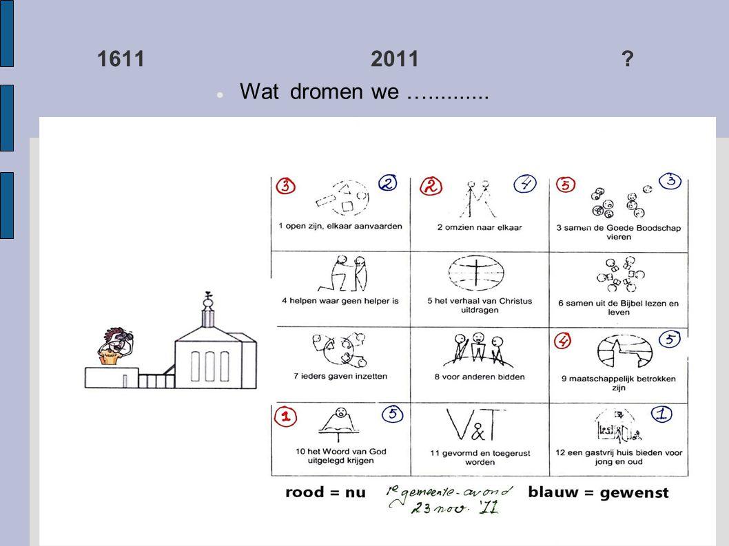 1611 2011  Wat dromen we …..........