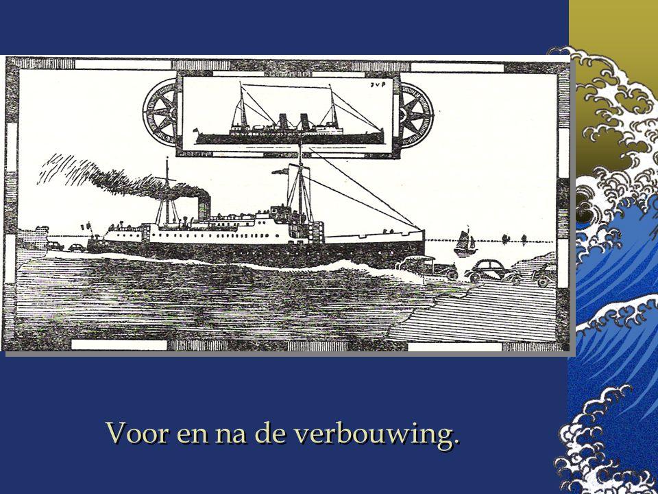 """In 1936 werd de """"Ville de Liege"""" in vijf maanden omgebouwd tot de eerste Car-Ferry en herdoopt tot """"London-Istanbul"""" Ze werd 106 m lang en uitgerust o"""