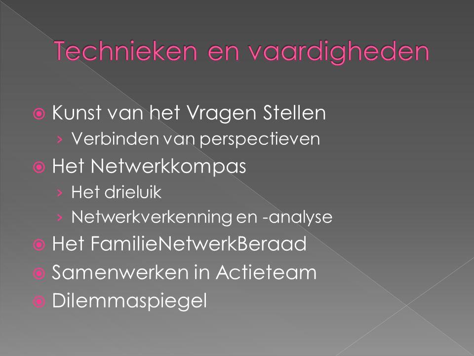  Kunst van het Vragen Stellen › Verbinden van perspectieven  Het Netwerkkompas › Het drieluik › Netwerkverkenning en -analyse  Het FamilieNetwerkBe