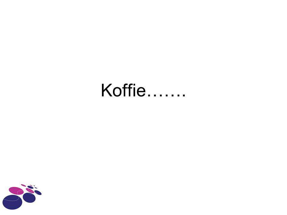 Koffie…….