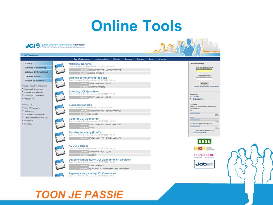 Online Tools TOON JE PASSIE