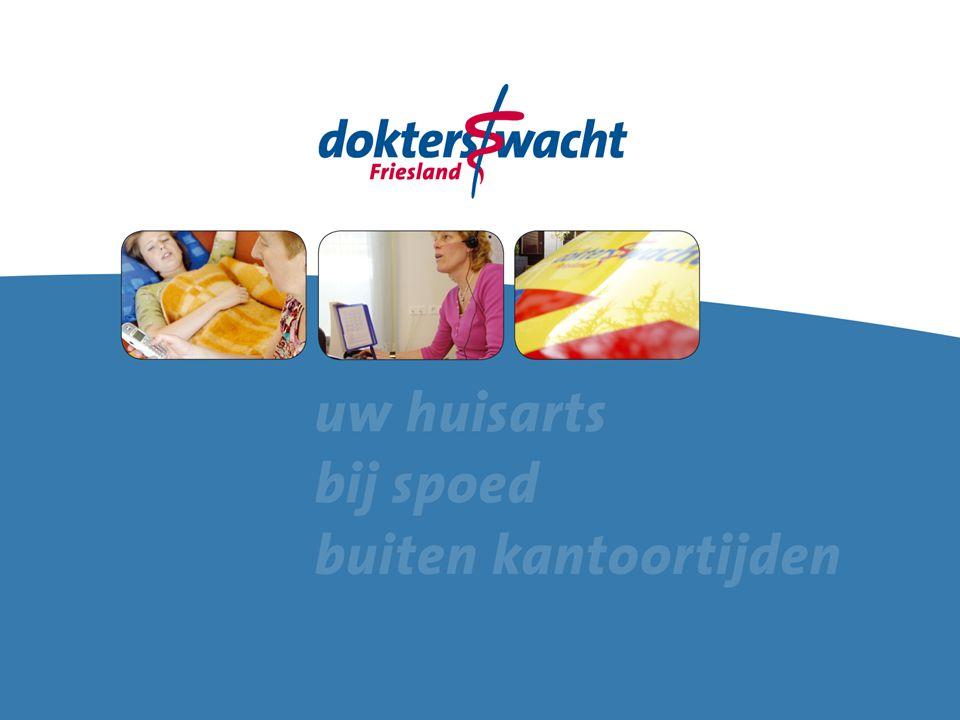 Doorgaan naar Actiecentrum 14-09-2009 Hinda Stegeman Hoofd bedrijfsvoering Dokterswacht Friesland Namens FHV, ROS, GHOR en Dokterswacht