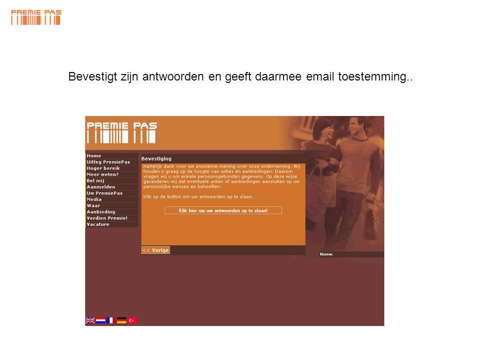 Laat zijn e-mailadres achter.. info@premiepas.nl