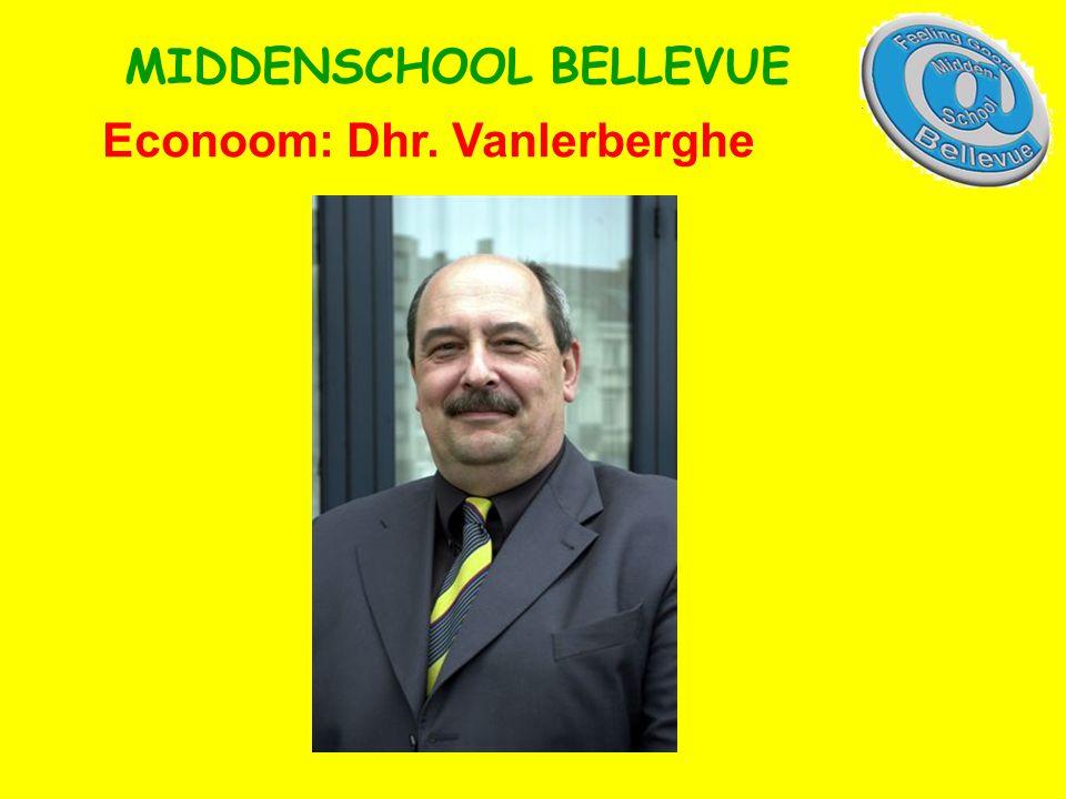 Econoom: Dhr. Vanlerberghe MIDDENSCHOOL BELLEVUE