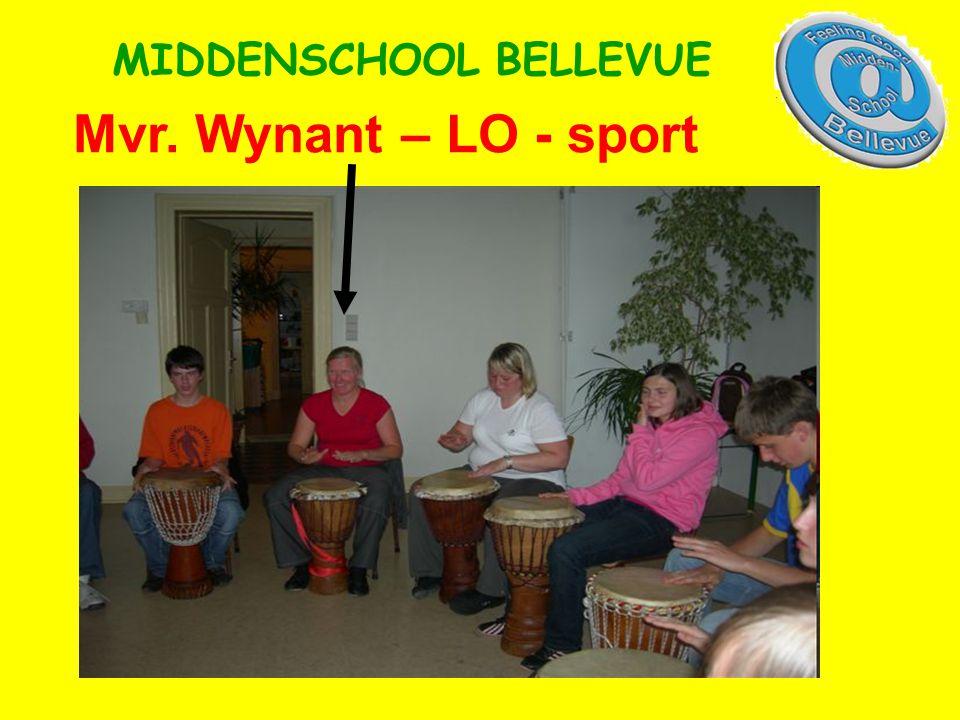 Mvr. Wynant – LO - sport MIDDENSCHOOL BELLEVUE
