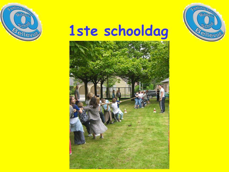 1ste schooldag