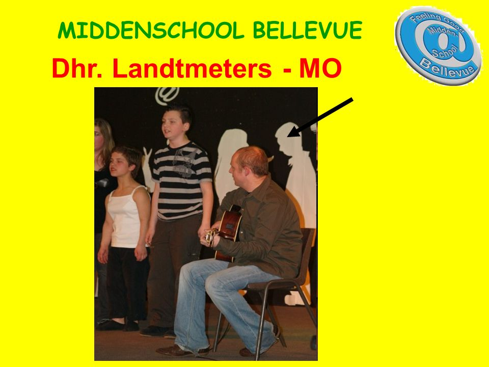 Dhr. Landtmeters - MO MIDDENSCHOOL BELLEVUE