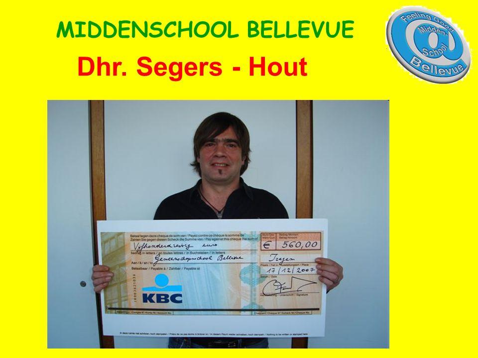 Dhr. Segers - Hout MIDDENSCHOOL BELLEVUE