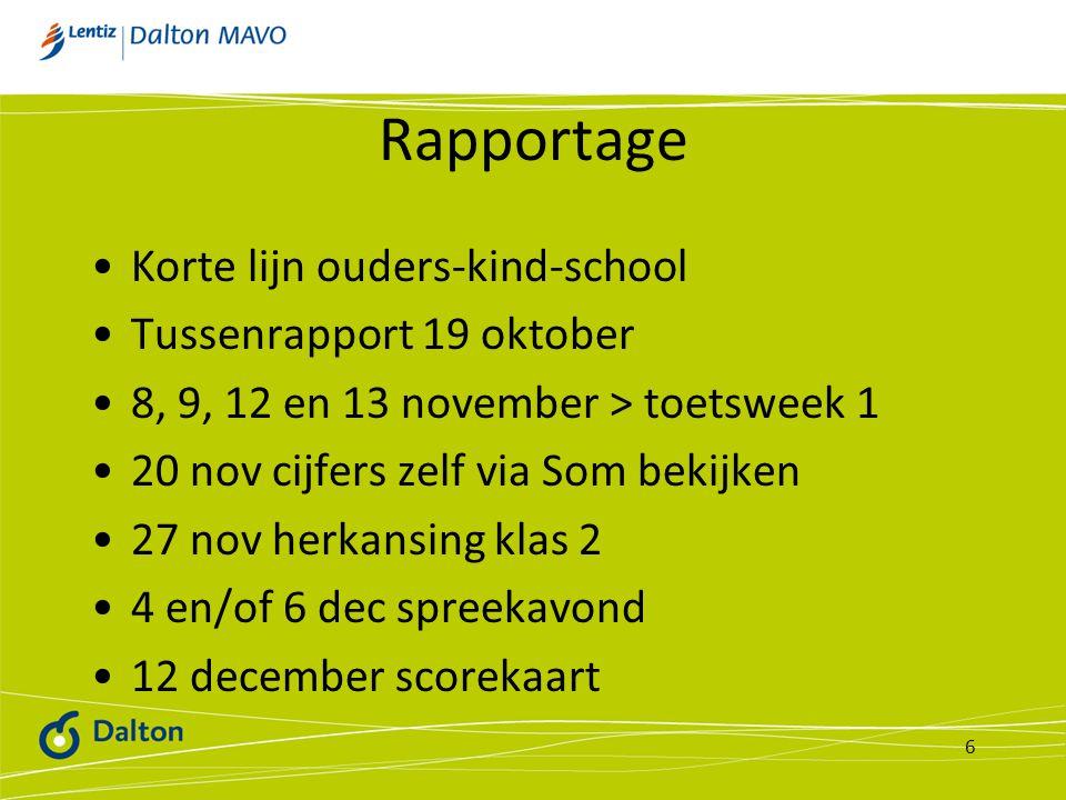 Vak:Nederlands Leerjaar:2 Leerweg:VMBO-TL Cursusjaar:2012-2013 Nummer toets Omschrijving van de leerstof Manier van toetsen Tijdsduur Tijdstip van afname Mogelijkheid tot herkansen Weging T08Op Niveau blok 1 en 2schriftelijk60 min.Toetsweek 1ja25% T09Op Niveau blok 3 en 4schriftelijk60 min.Toetsweek 2ja25% T10Op Niveau blok 5 en 6schriftelijk60 min.Toetsweek 3ja25% T11Spelling, woordenschatschriftelijk3x 20 min.