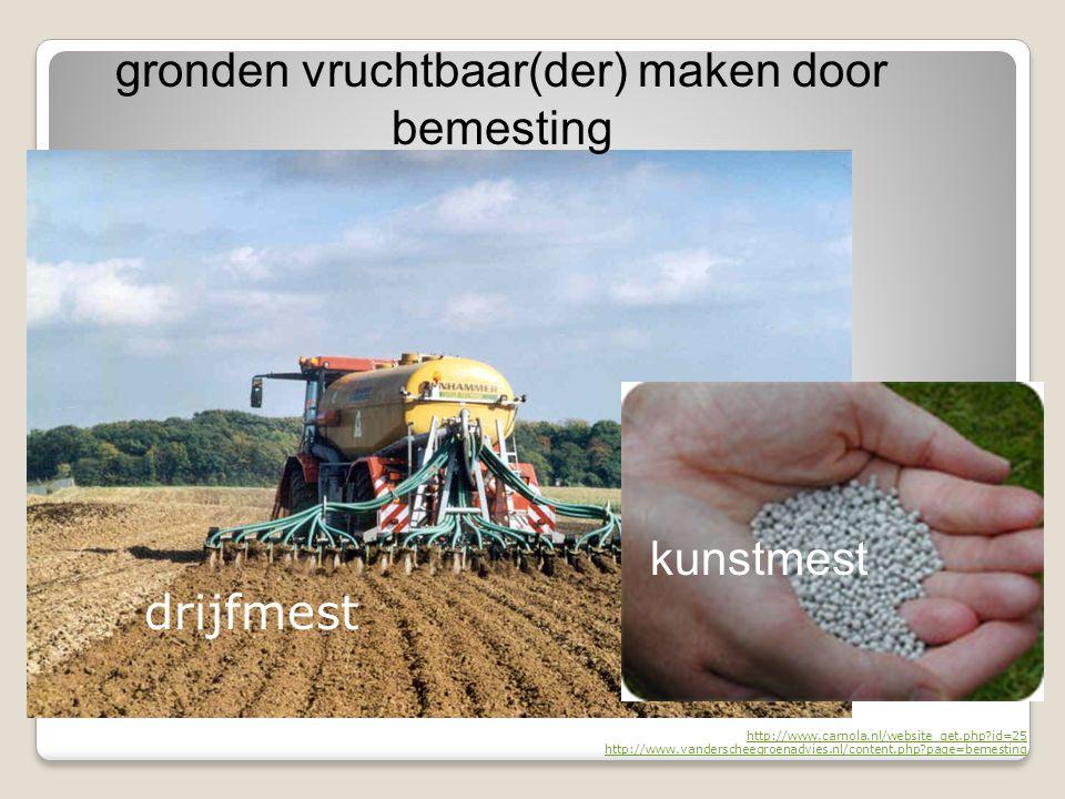 http://www.carnola.nl/website_get.php?id=25 http://www.vanderscheegroenadvies.nl/content.php?page=bemesting gronden vruchtbaar(der) maken door bemesti