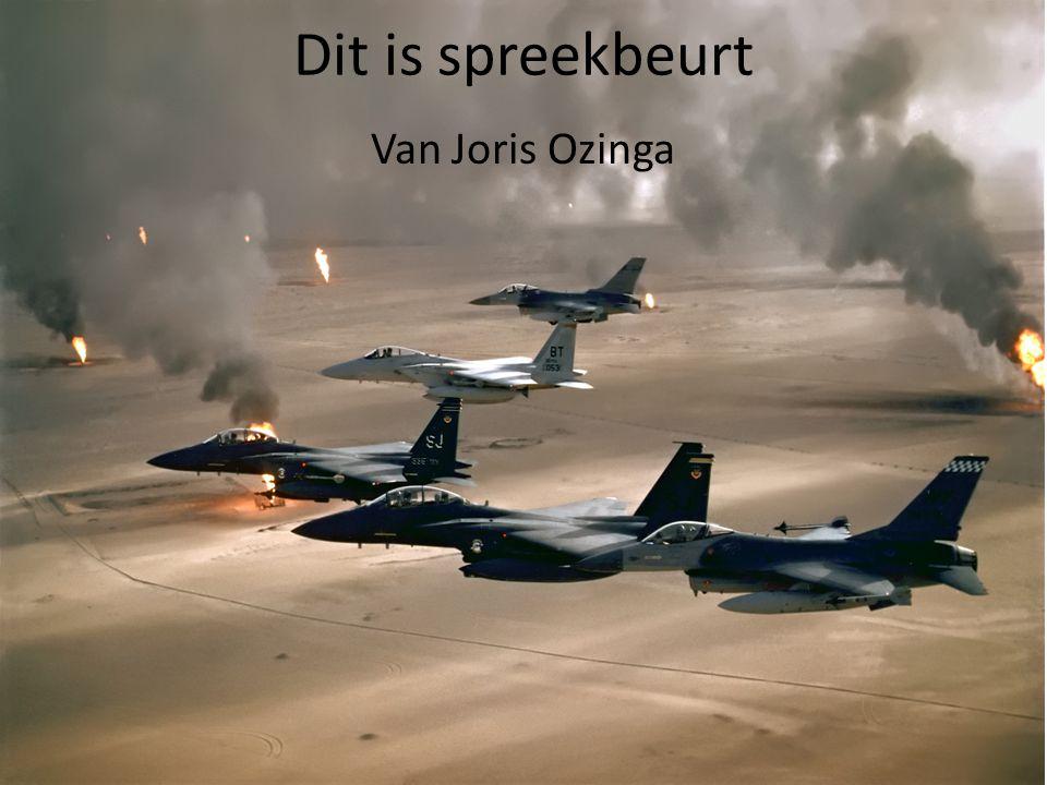 Dit is spreekbeurt Van Joris Ozinga