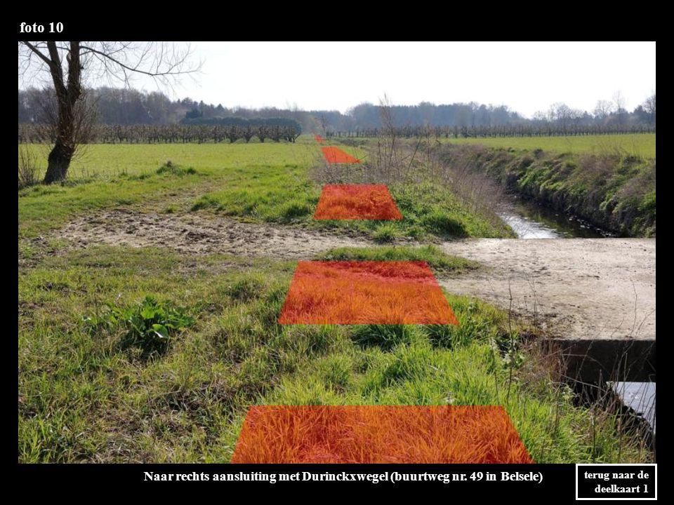 foto 10 Naar rechts aansluiting met Durinckxwegel (buurtweg nr.