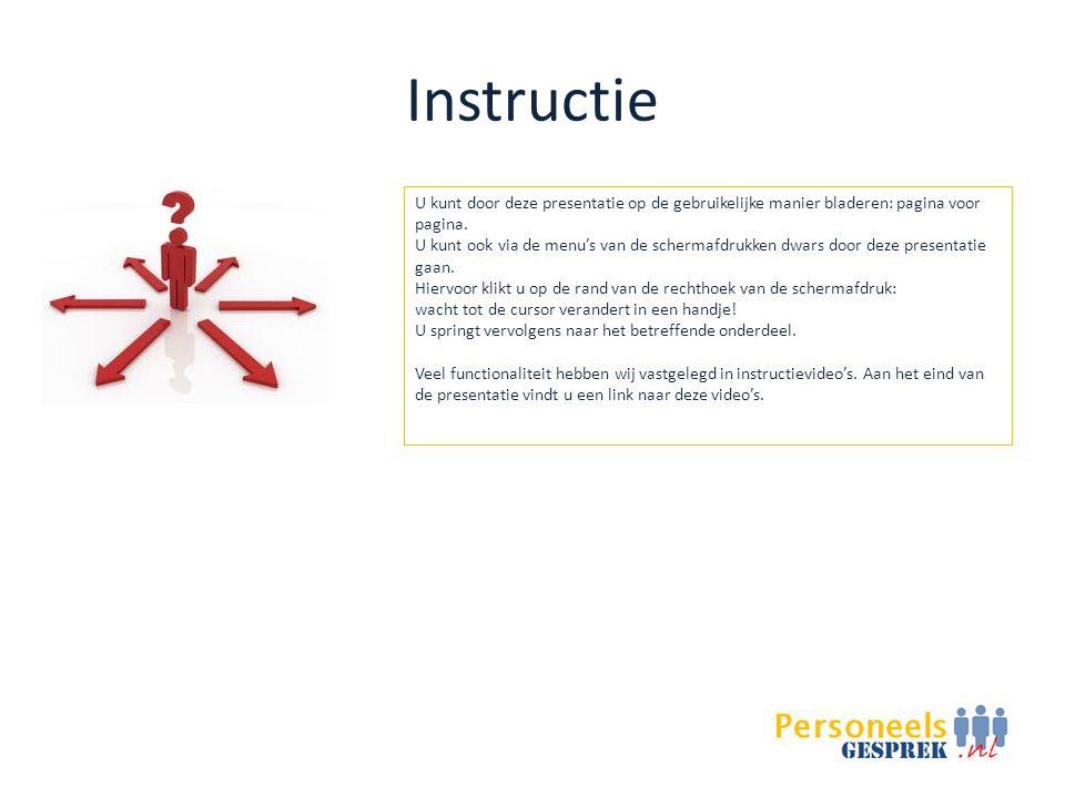 Instructie U kunt door deze presentatie op de gebruikelijke manier bladeren: pagina voor pagina.