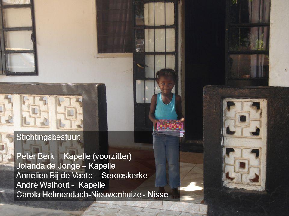Stichtingsbestuur: Peter Berk - Kapelle (voorzitter) Jolanda de Jonge – Kapelle Annelien Bij de Vaate – Serooskerke André Walhout - Kapelle Carola Hel