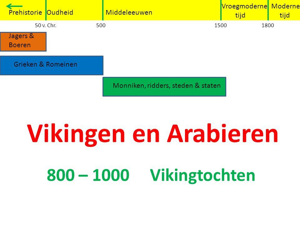 Over zee… -De schepen van de Vikingen heetten Drakars - de dochters en de oudste zonen van de Vikingen voeren niet mee - De Vikingen reisden naar onbekende gebieden om daar op zoek te gaan naar voedsel en land