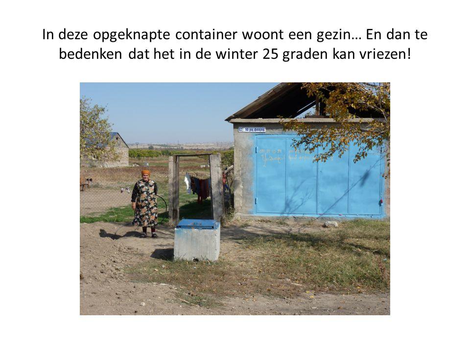 In deze opgeknapte container woont een gezin… En dan te bedenken dat het in de winter 25 graden kan vriezen!