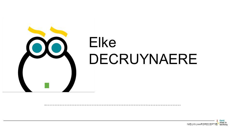 NIEUWJAARSRECEPTIE Elke DECRUYNAERE