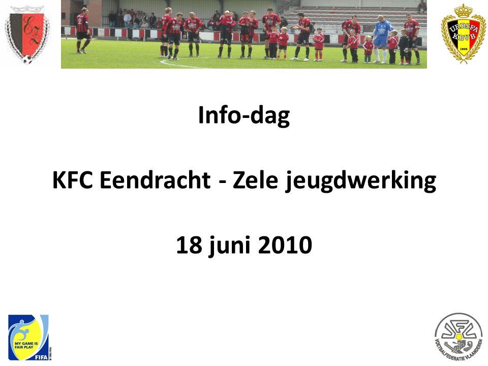 Info-dag KFC Eendracht - Zele jeugdwerking 18 juni 2010