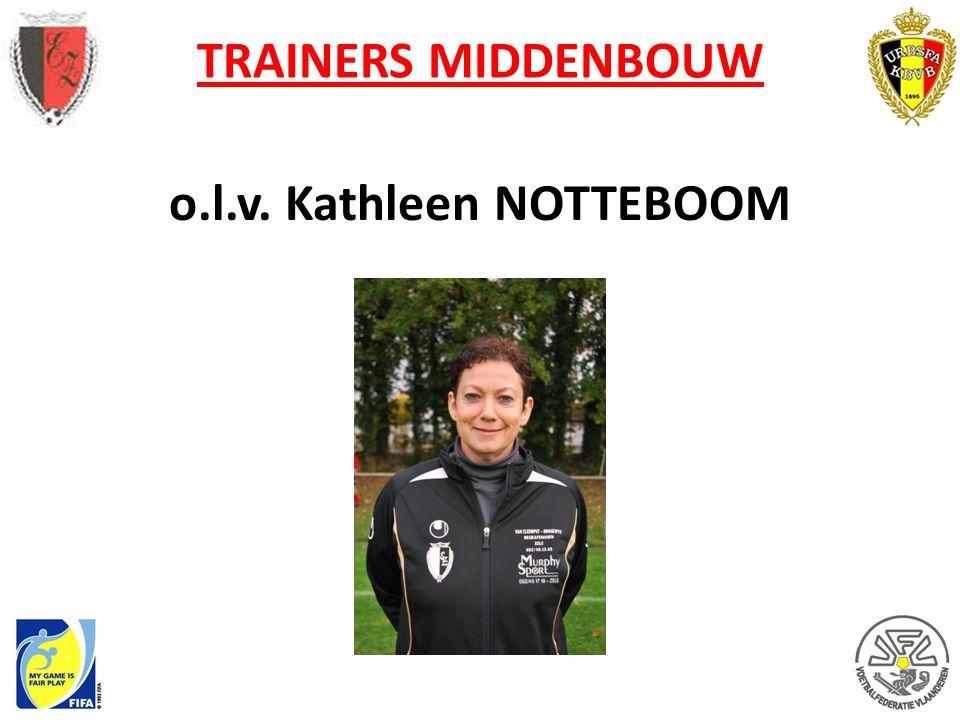 TRAINERS MIDDENBOUW o.l.v. Kathleen NOTTEBOOM
