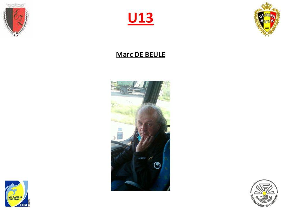 U13 Marc DE BEULE