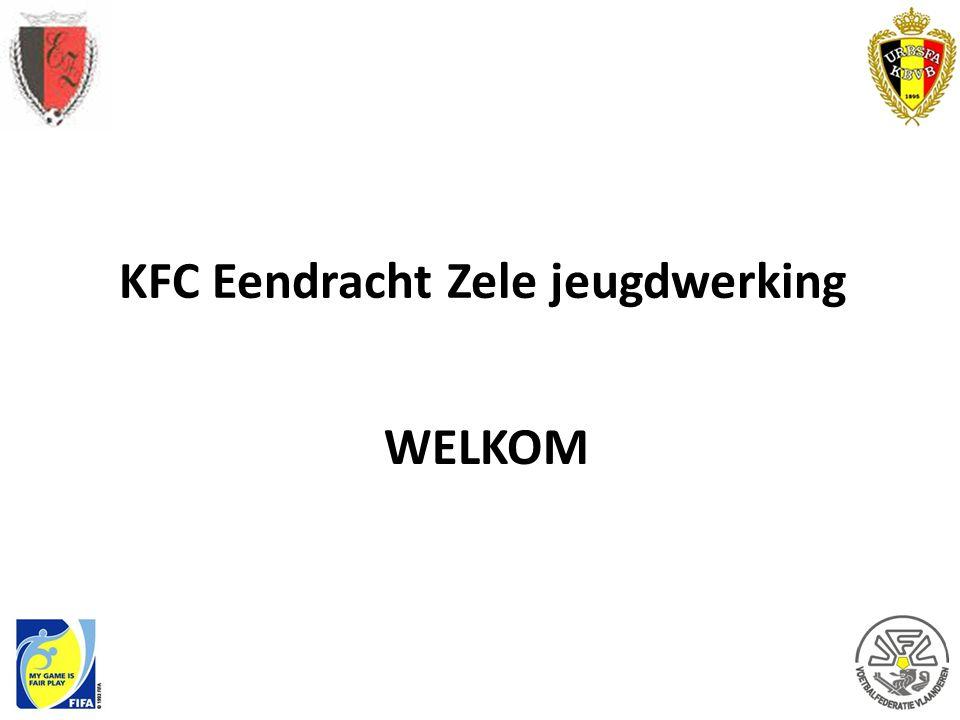 KFC Eendracht Zele jeugdwerking WELKOM
