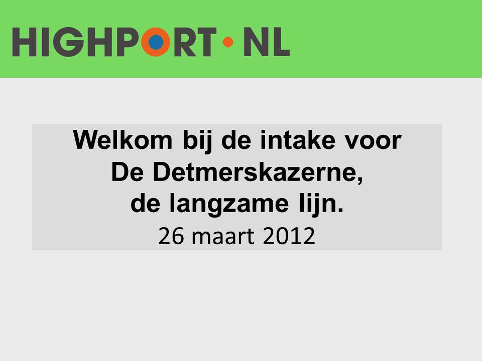 Korte introductie Highport.nl en het werkatelier •Wie zijn we en wat doen we.