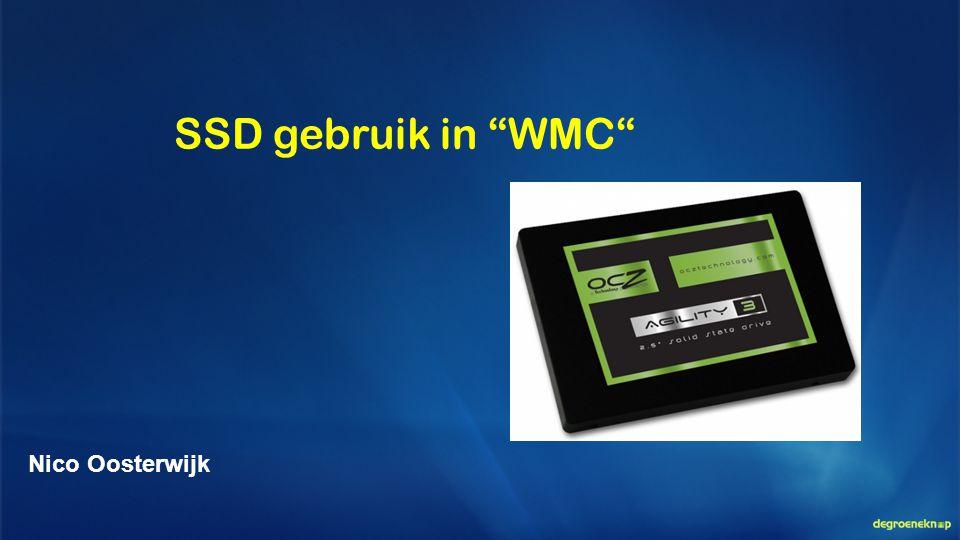 """SSD gebruik in """"WMC"""" Nico Oosterwijk"""