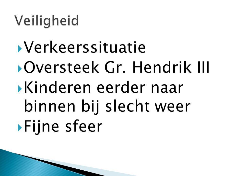  Verkeerssituatie  Oversteek Gr.