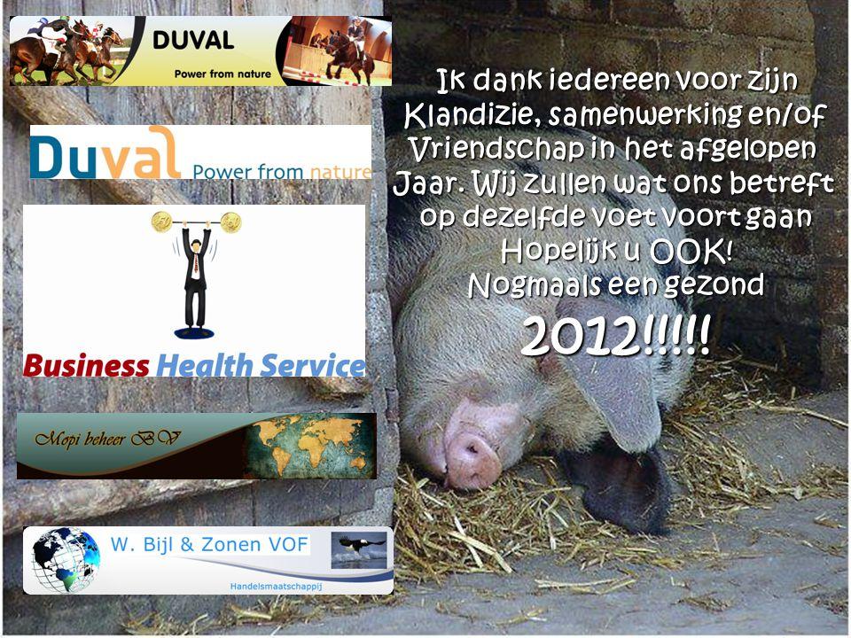 Pieter, Monique & Lobke Bijl Fijne feestdagen en een gezond en voorspoedig 2012!
