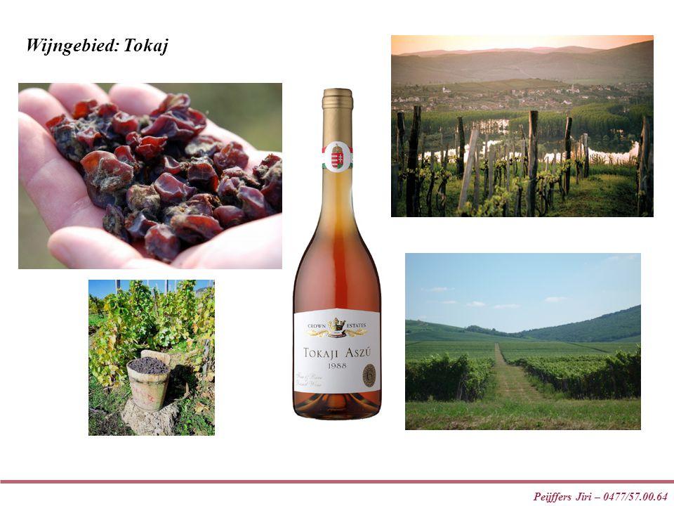Peijffers Jiri – 0477/57.00.64 Wijngebied: Tokaj
