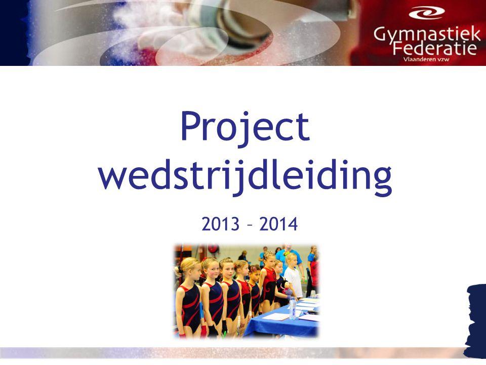 Project wedstrijdleiding 2013 – 2014