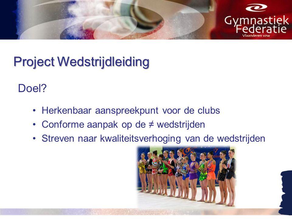 Project Wedstrijdleiding Doel.
