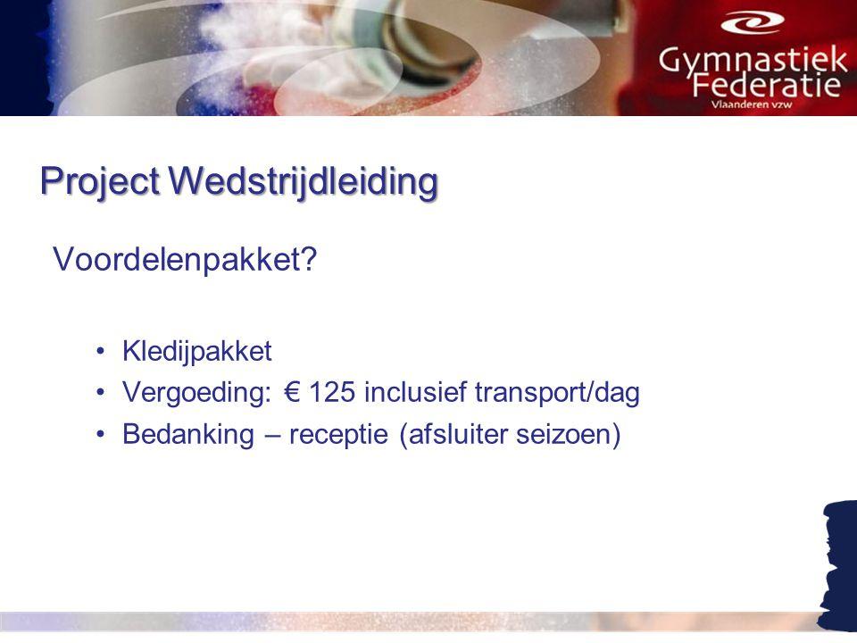 Project Wedstrijdleiding Interesse.•Heb je interesse om in dit project te stappen.