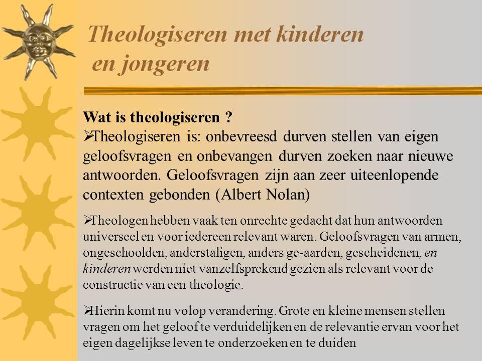 Wat is theologiseren .