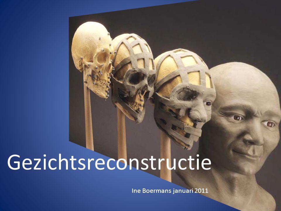 Gezichtsreconstructie Ine Boermans januari 2011